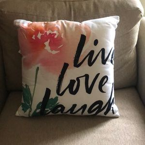 Other - Pier one decorative pillow